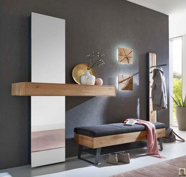 runa garderobe kerneiche natur geb rstet ursula s m belwelt. Black Bedroom Furniture Sets. Home Design Ideas
