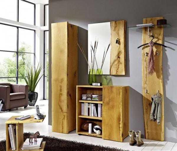 woodline garderobe eiche massiv ge lt woodline garderobe eiche massiv garderoben. Black Bedroom Furniture Sets. Home Design Ideas