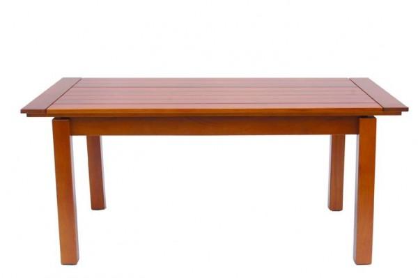 Tisch 66 rechteckig Mahagoniholz