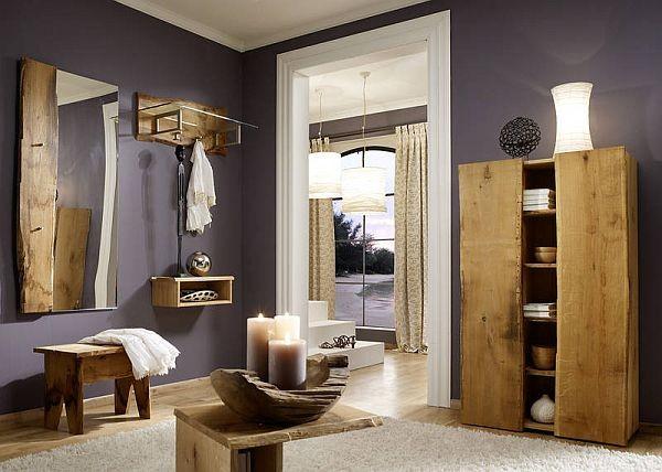 Woodline Garderobe Eiche Massiv Sagerau Woodline Garderobe Eiche