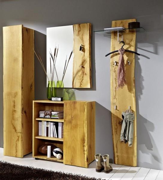Woodline Garderobe Eiche Massiv Geolt Woodline Garderobe Eiche