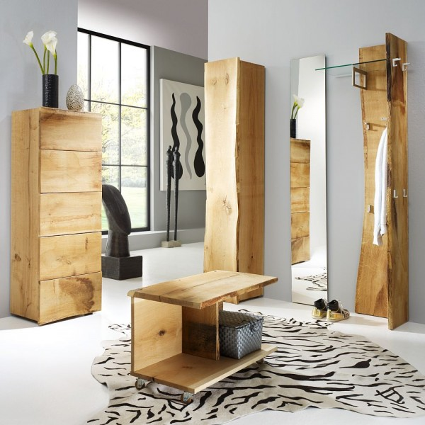 woodline garderobe woodline garderobe eiche massiv garderoben dielenm bel flurm bel. Black Bedroom Furniture Sets. Home Design Ideas