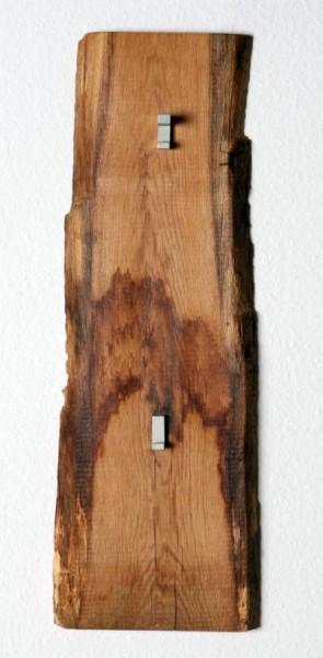 Woodline Garderobenpaneel Kurz Woodline Garderobe Eiche Massiv