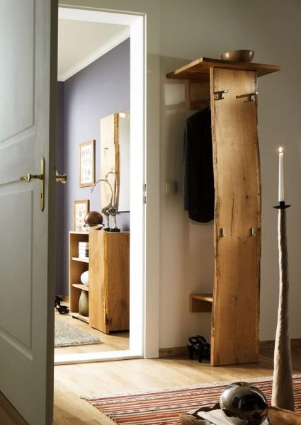 Woodline Multigarderobe Woodline Garderobe Eiche Massiv Woodline