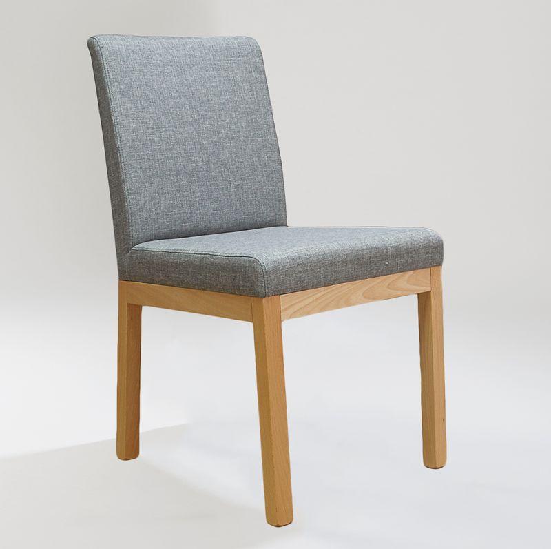 polsterstuhl mit niedriger lehne stoffbezug vollpolsterst hle st hle und sessel f r. Black Bedroom Furniture Sets. Home Design Ideas