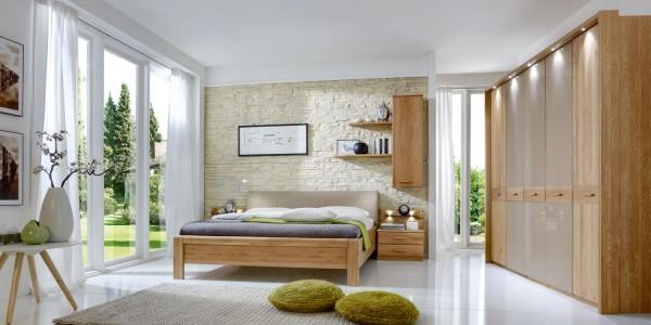 Toledo Schlafzimmer Eiche Teilmassiv