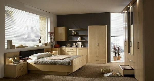cesano bettumgebung mit schrank schlafzimmer furniert lack dekor schlafen m bel. Black Bedroom Furniture Sets. Home Design Ideas